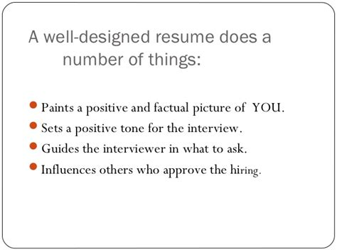 Resume Writing Powerpoint Resume Writing Ppt Presentation