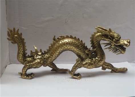 Chinese New Year Home Decoration by Long 11 Inch Metal Crafts Home Decoration Chinese Brass