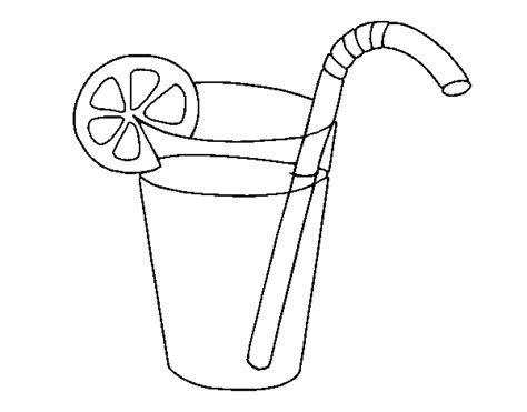 coloring page glass of water free coloring pages of glass with water