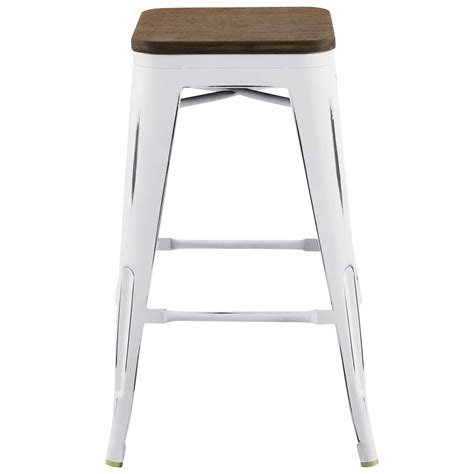 Bistro Style Counter Stools by Modway Promenade Cafe And Bistro Style Steel Counter Stool