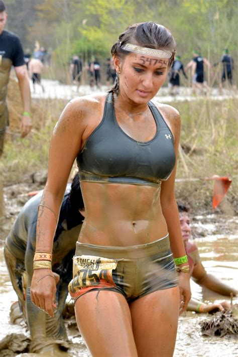 fit girls in the tough mudder challenge is something you