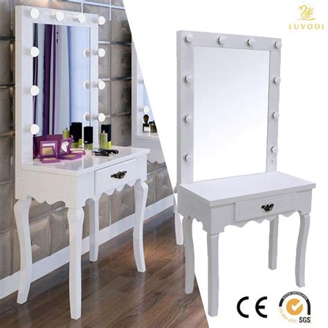 vanity table set with lighted mirror furniture lighted vanity table marvelous