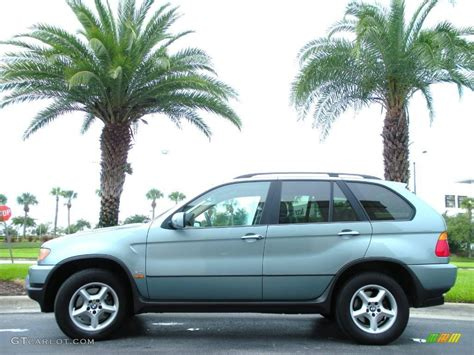 green bmw x5 2003 grey green metallic bmw x5 3 0i 15051207 photo 17