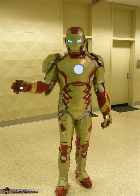 iron man mk  handmade costume  sew diy costumes