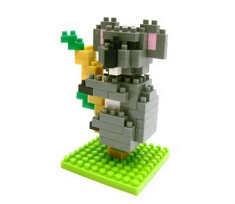 Lego Koala Original nanoblock shop schweiz nanoblock koala level 3 nbc020
