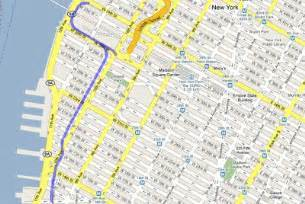New York High Line Map by Outsiders New York City Park In The Air