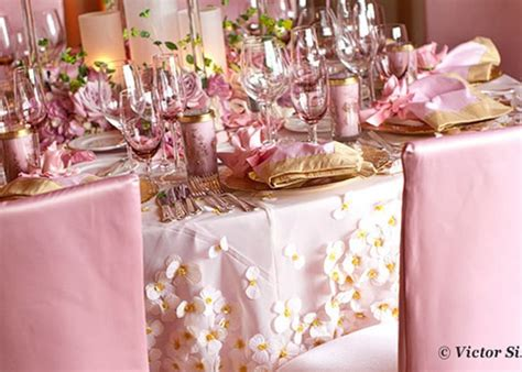pink and gold table decorations pink and gold wedding table setting pink weddings
