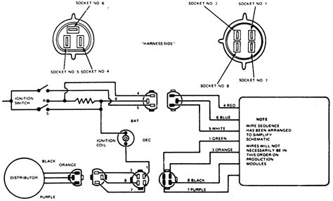 ford electronic ignition wiring ford free engine image