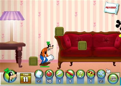 Mickey Mouse Pillow Fight Y8 by Mickey And Friends In Pillow Fight Play Mickey And Friends