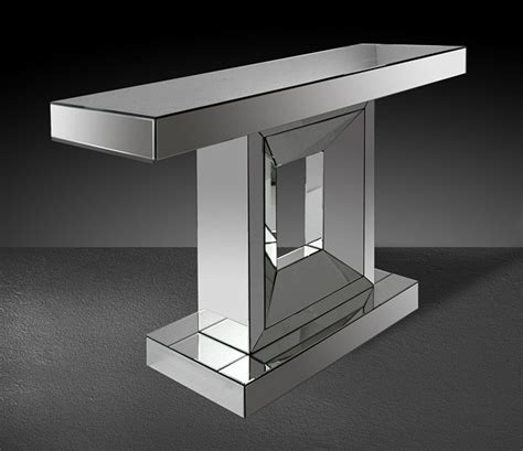 small space console table small modern console table milton modern mirrored console