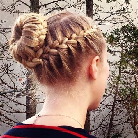 put your hair in a bun with braids 8 express hairstyles for busy moms the not perfect housewife
