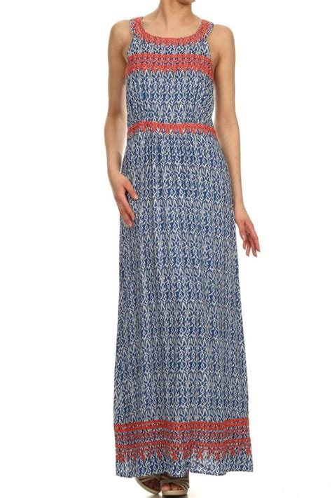 Maxy Ny 95 By Ashira thml embroidered maxi dress from new york by gado gado