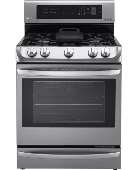 stainless gas range lg stainless steel freestanding gas range lrg4115st