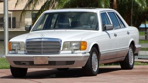 how can i learn about cars 1990 mercedes benz w201 engine control buy used 1990 mercedes benz 350sdl turbo diesel s class 300 series one owner fla car in pompano