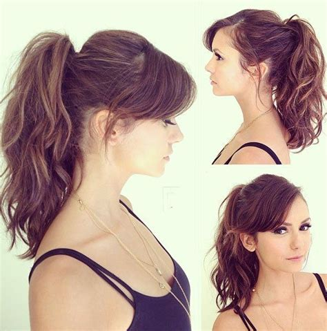 how to achieve swept back hairstyles for women u tube 25 best ideas about high ponytail hairstyles on pinterest
