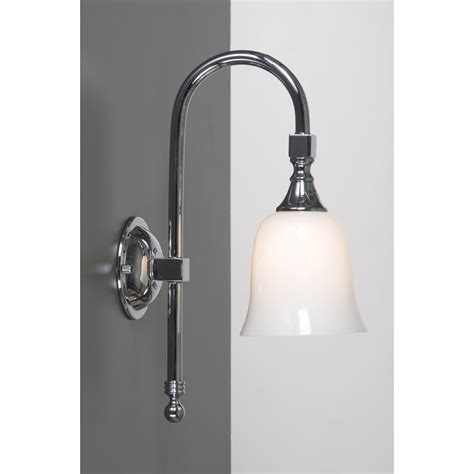 Traditional Bathroom Lighting Bath Classic Bathroom Wall Light Chrome Swan Neck Period Style Design