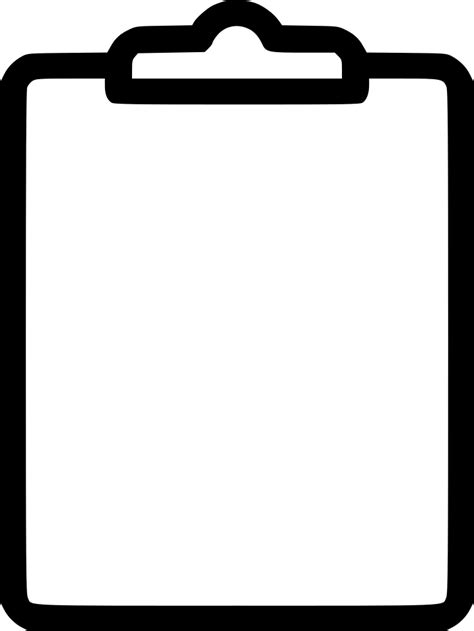 Clipboard Svg Png Icon Free Download (#528147 ... Art Clipart Logo