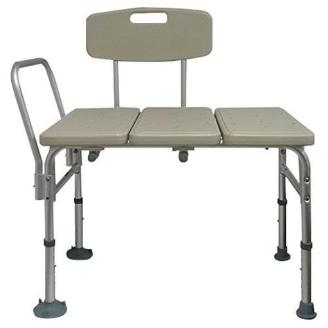 tub bench with back convaquip heavy duty tub transfer bench with reversible