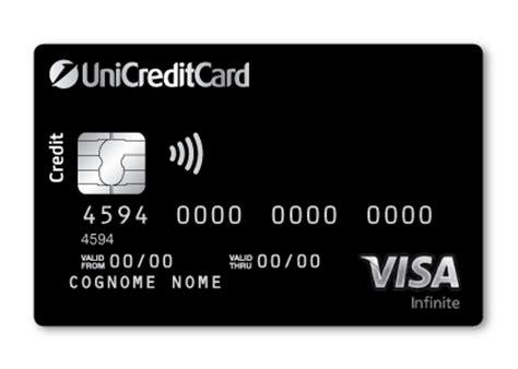 unicredit privati login carta di credito esclusiva visa infinite banking