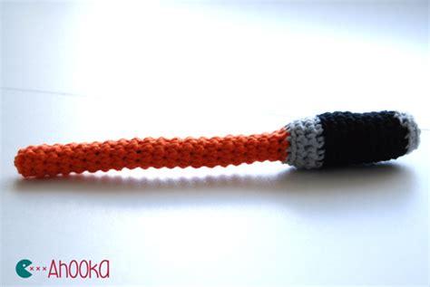 amigurumi lightsaber pattern crochet star wars lightsaber free amigurumi pattern