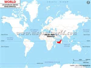 Uae World Where Is Dubai Located On The Map Where Is Dubai Near