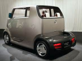 Toyota Electric Vehicle Concept Car Hi Ct Hybrid Car Concept From Toyota Tuvie