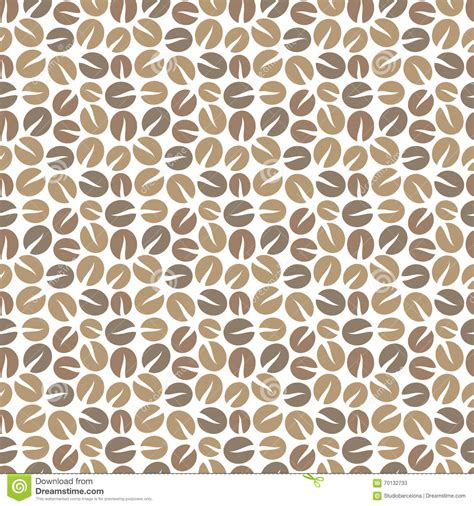 seamless pattern coffee coffee beans seamless pattern stock vector image 70132733