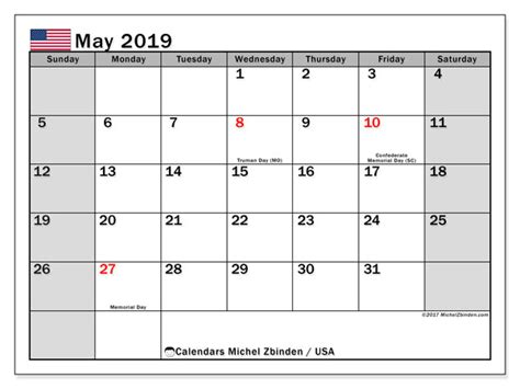 calendar usa michel zbinden en