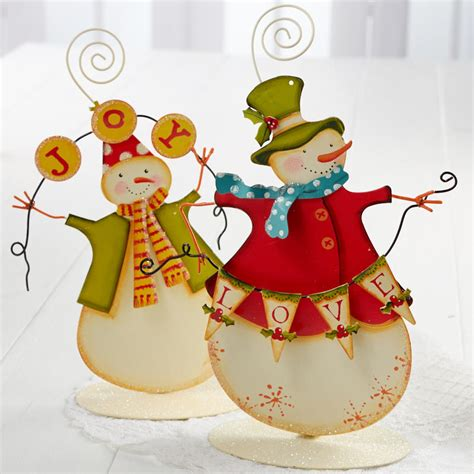 holiday time 4 piece vintage snowman pathway christmas lighted lawn stakes set vintage inspired snowman new items