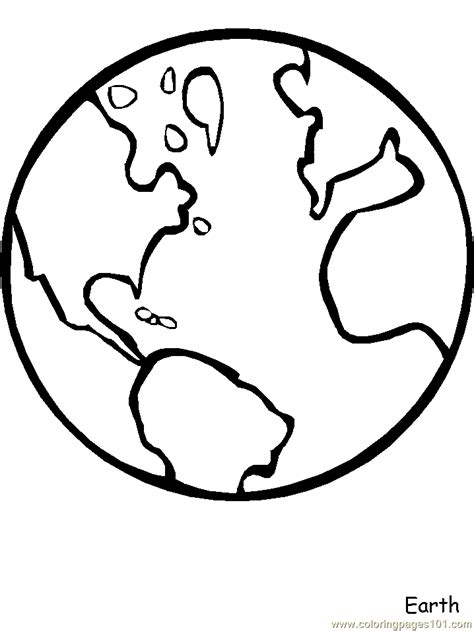 coloring pages planet earth drawing planet earth coloring pics about space