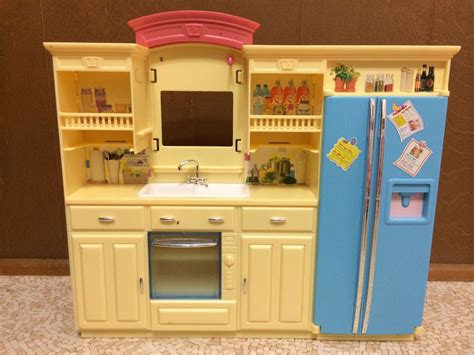 barbie kitchen furniture barbie doll living in style decor collection kitchen