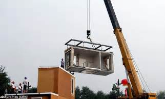 Build A 3d House chinese company unveils 3d printed villas that can be