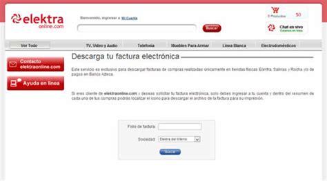 cadena oxxo factura electronica facturas electr 243 nicas de elektra salinas y rocha y banco