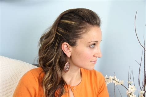 side view of pulled back hair in a bun edgy side pullback easy hairstyles cute girls hairstyles