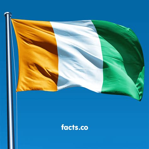 flag  ivory coast  symbol  peace  confidence