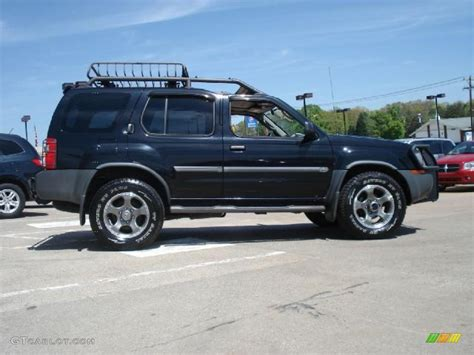 nissan xterra black 2002 nissan xterra black 200 interior and exterior images