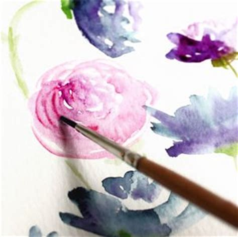 watercolor pattern tutorial how to create watercolor flowers tutorial plus a gorgeous