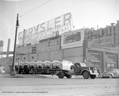 Chrysler Factories by Chrysler Jefferson Plant Complex Detroit Quot The Arsenal