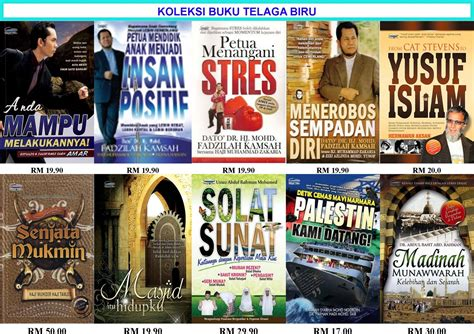 beli buku  koleksi buku telaga biru