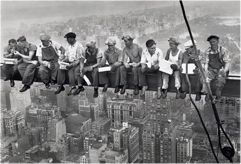 fotos auf tapete kleben new york bauarbeiter foto tapete 232x315 foto tapeten