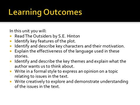 key themes of the outsiders the outsiders
