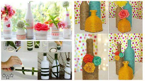 12 ideas creativas con botellas y tarros de vidrio papelisimo 13 ideas m 225 s creativas para decorar botellas y frascos de