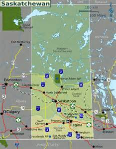 map of saskatchewan map regions worldofmaps net