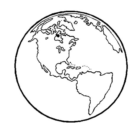 color of earth earth planet coloring page