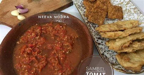 resep sambel tomat mentah oleh neeva aw cookpad