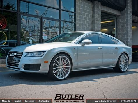 audi a7 with 22in savini bm9 wheels exclusively from