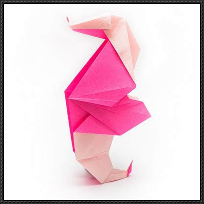 Origami Seahorse - how to fold an origami seahorse