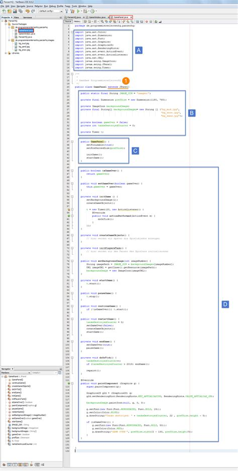 java pattern klasse java spiel programmieren tutorial die spielfl 228 che erstellen