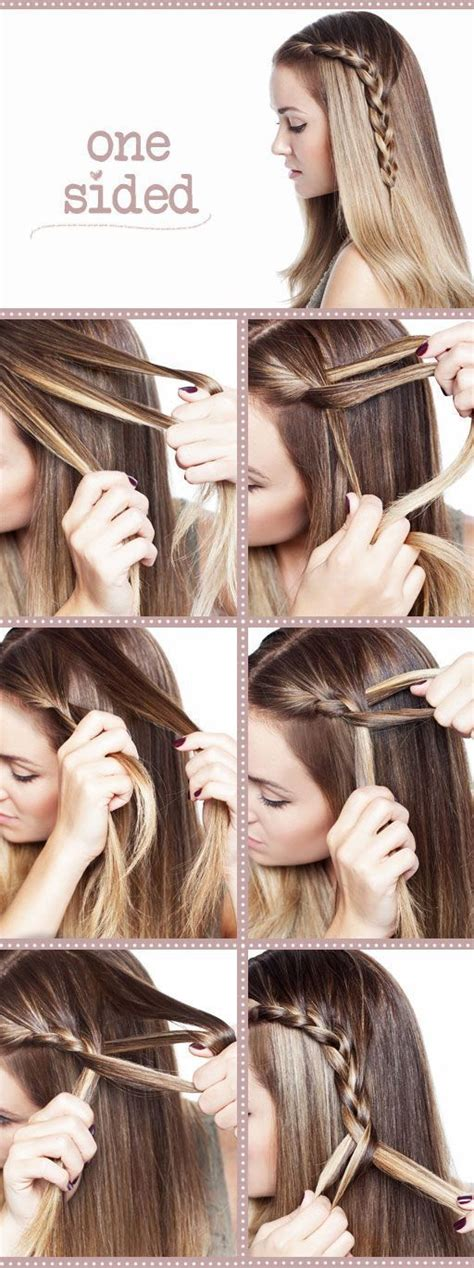 a and easy hairstyle i can fo myself blog asiantown net21 awesome creative diy hairstyles illustrated in pictures