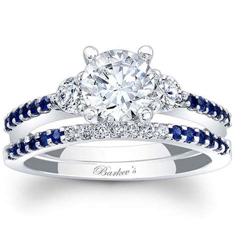 Ben Garelick Jewelers · Barkev's White Gold Sapphire